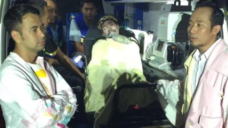 Limbad saat dilarikan ke rumah sakit