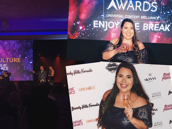 We Won! | UK Blog Awards 2018: A Thank You