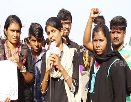 Chennai People Tsunami protest