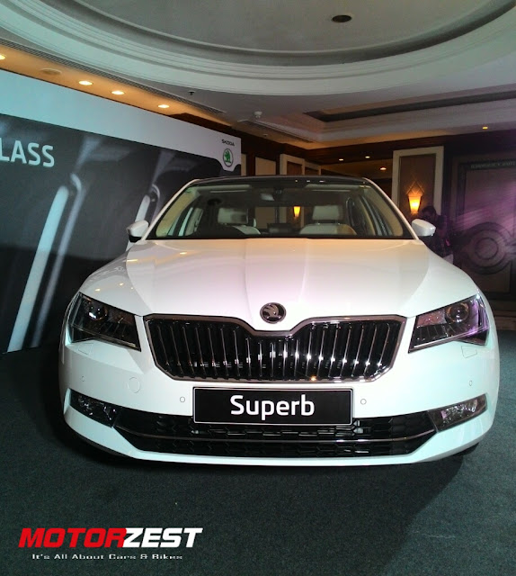 2016 Skoda Superb India Launch