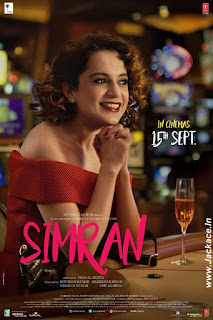 Simran First Look Poster