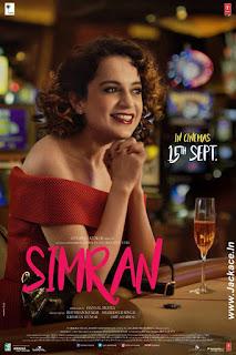 Simran First Look Poster