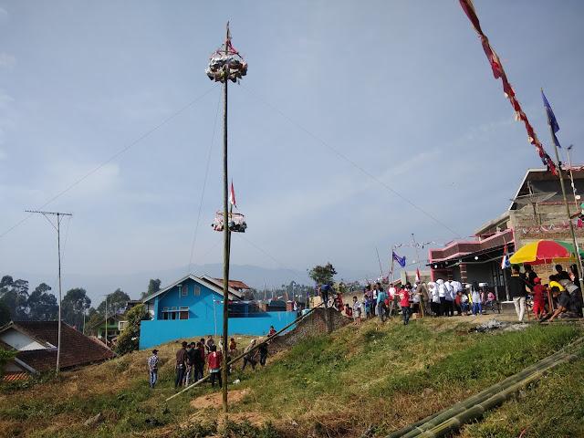 Memeriahkan 72 tahun kemerdekaan di wisata Ciwidey