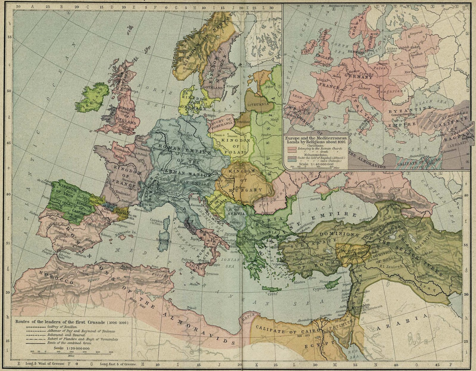 Israel Ayer Y Hoy Mapas Europa En Siglo Xi