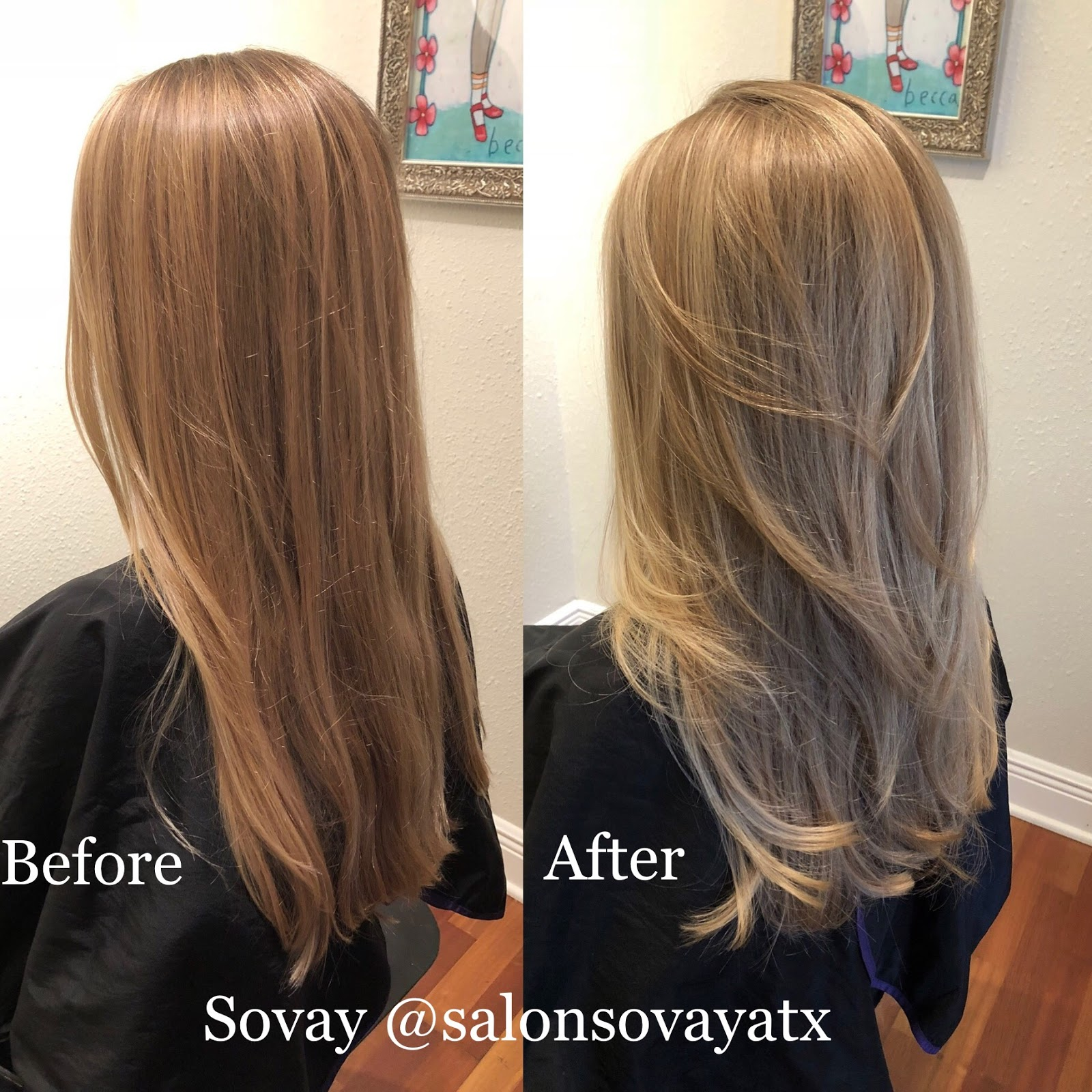 Salon Sovay Best Natural Highlights In Austin With Austin Stylist