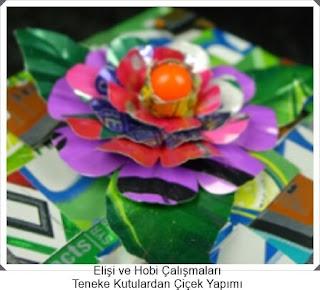 Elişi Çiçek Modelleri  2