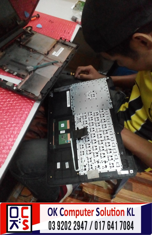 [SOLVED] TUKAR KEYBOARD ASUS X454L | REPAIR LAPTOP CHERAS 5