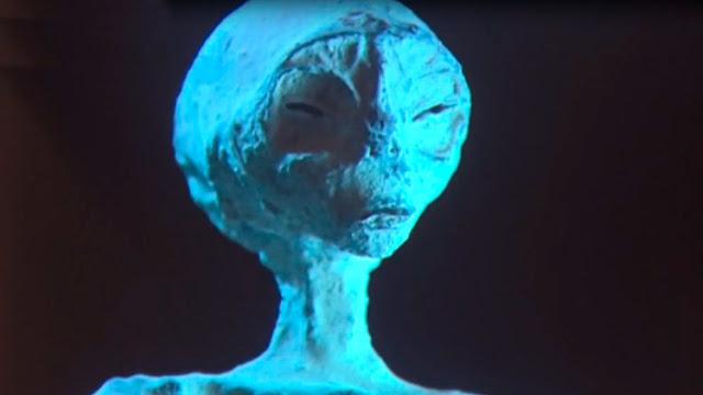 Presentan a nivel internacional; pruebas de vida alienígena en la Tierra.