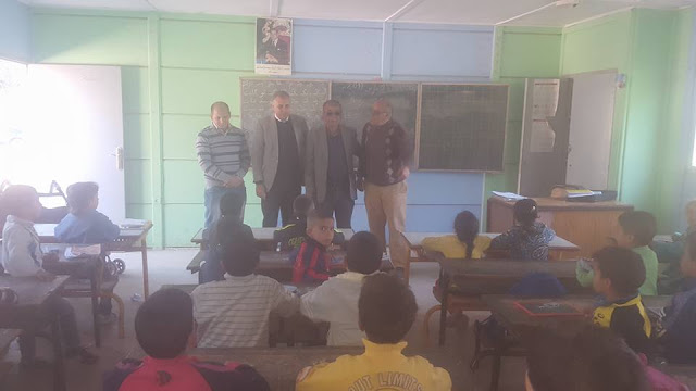 لجنة من المديرية الإقليمية في زيارات ميدانية لتتبع سير أشغال البناء والإصلاح بعدد من المؤسسات التعليمية