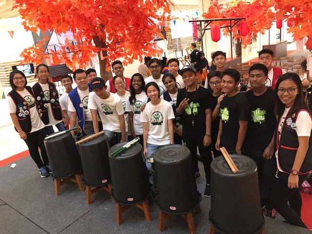 Eco schools were also present to perform and conduct an eco-drumming workshop