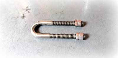 "Custom Precision 316 Stainless U Bolts - 3/8-16 X 4"" With Critical 1-3/8"" Center to Center"