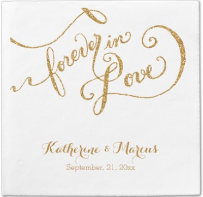 http://www.zazzle.com/reception_decor_napkin_script_forever_love_glitter_taylorcorpnapkin-256126408360958419?rf=238845468403532898