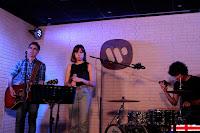 Mikel Erentxun en Warner music café