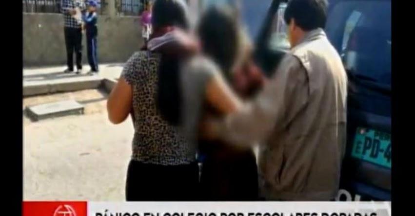 MINEDU enviará autoridades a colegio emblemático Hipólito Unanue donde escolares fueron dopadas