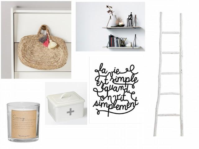 inspiration déco cyrillus, Hema, Bird on the Wire, rue de la déco, H&M Home, pretty wire