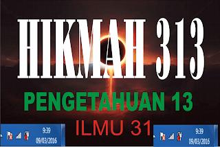 Transformasi Ilmu31 menjadi Hikmah313 pukul 9:39 Tanggal 939