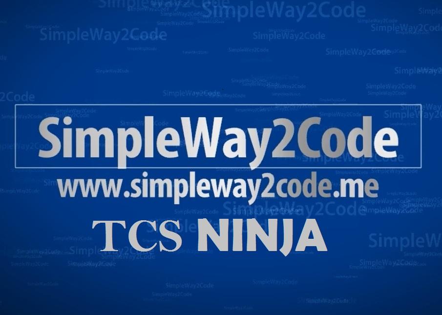 Tcs Ninja Quora