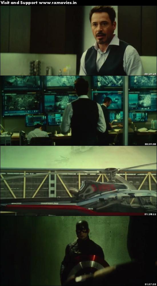 Captain America Civil War 2016 Dual Audio Hindi 480p HDTC 500mb