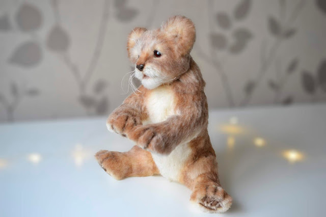 Replika Pets Soft Sculpture Lion