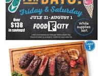 Food City Weekly Sale August 5 - 11, 2020