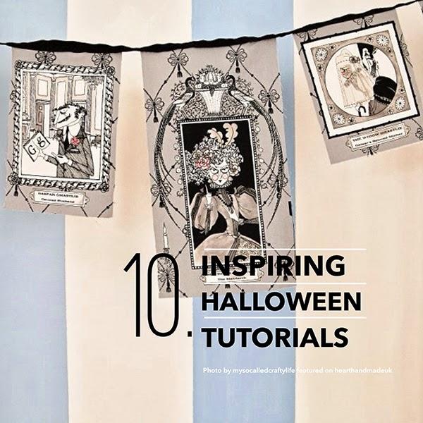 10 Inspiring DIY Halloween Tutorials and Projects