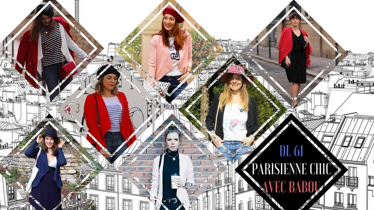 parisienne chic, look du jour, babou, défis looks, les petites bulles de ma vie