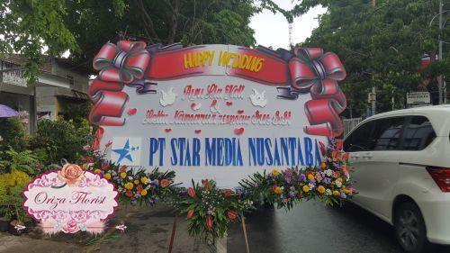 toko bunga papan surabaya, papan bunga pernikahan surabaya, jual papan bunga di surabaya