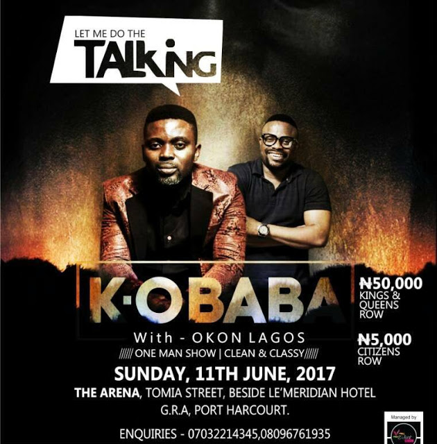 "EVENT: K.O BaBa ""Let Me Do The Talking"" Shorts Down Port Harcourt with Okon Lagos"