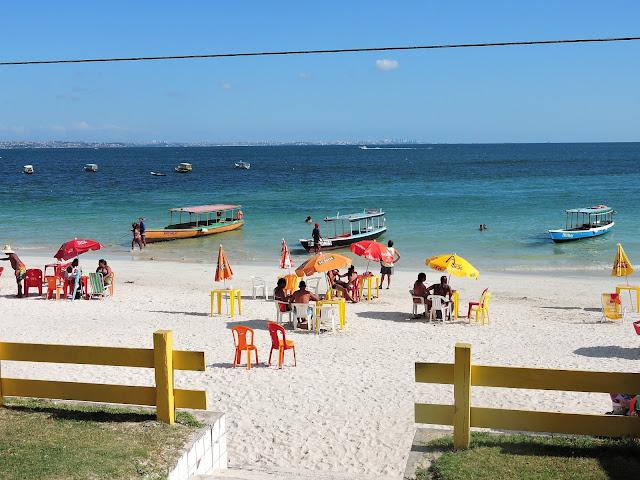 ilha de mare praia de itamoabo