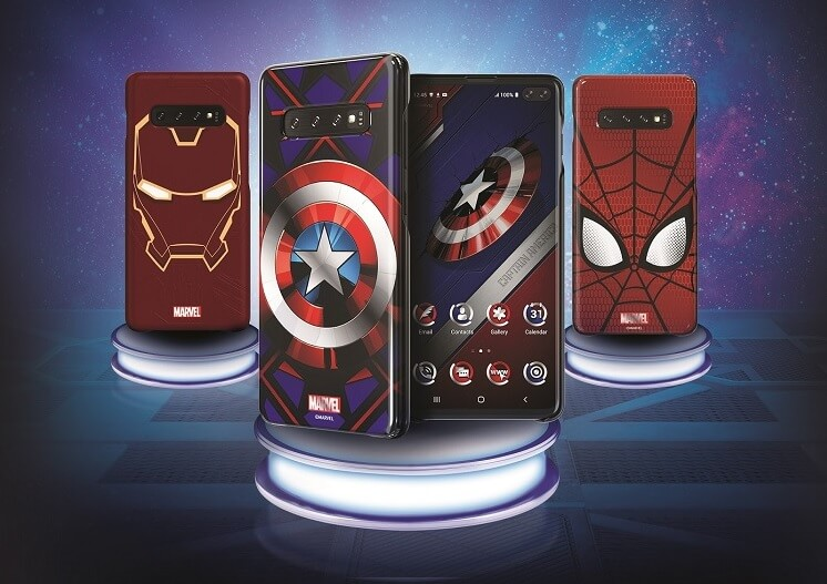 Samsung Outs Galaxy Friends x MARVEL Smart Covers