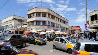 Feeling the pulse of Africa is best done in a market like Accra Moccala Market.