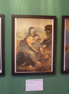 Pinacothèque Jesse Guelfi - Aula particular de inglês com Arte - The Virgin and Child with Saint Anne