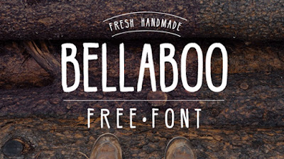 BellaBoo is an all caps font that's perfect for any kind of design project