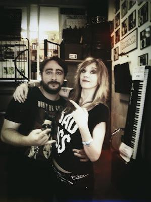 Tiziano Milani e Saji Connor