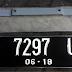 Plat Nomor Mobil Krom 3D + Bracket