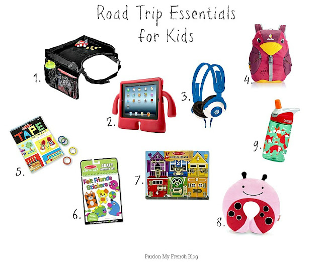 Road Trip Essentials For Kids