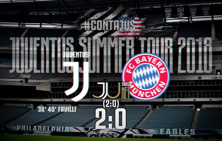 Prijateljska utakmica / Juventus - Bayern München 2:0 (2:0)