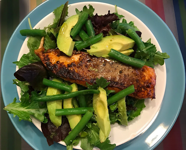 Food Hussy Recipe Salmon Amp Avocado Salad The Food Hussy