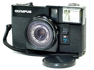Olympus Pen EF, Top Front