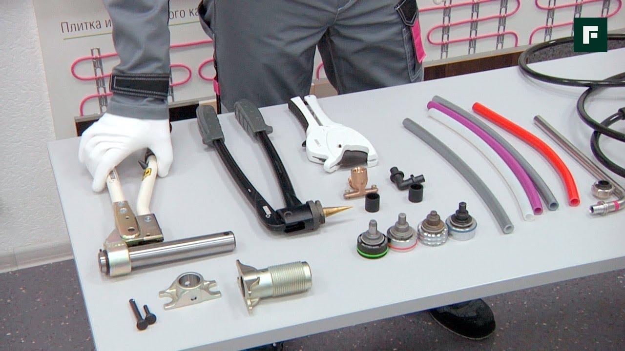 Инструменты для трубы из сшитого полиэтилена