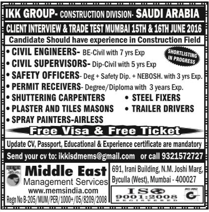 Ikk Group Jobs In Saudi Arabia