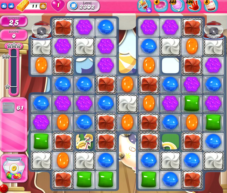 Candy Crush Saga level 2302