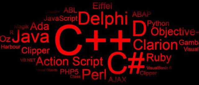 Ranking aponta as principais linguagens de programação de 2016.