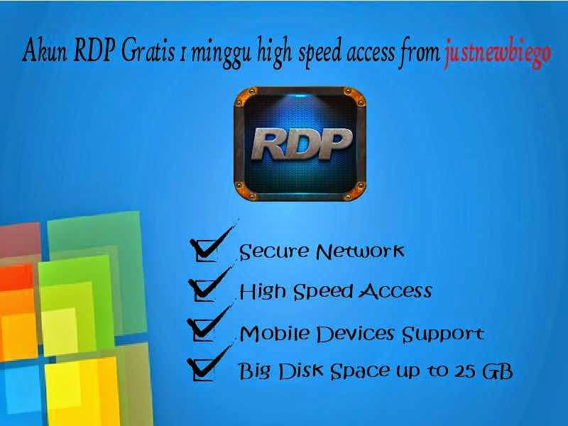 free rdp trial account update terbaru 2015