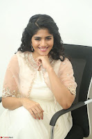 Megha Akash in beautiful Cream Transparent Anarkali Dress at Pre release function of Movie LIE ~ Celebrities Galleries 021.JPG