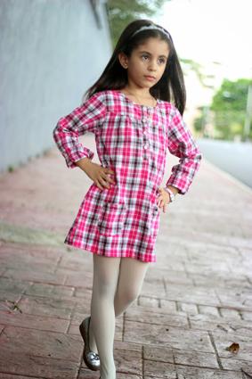 Shirt Tartan Dress