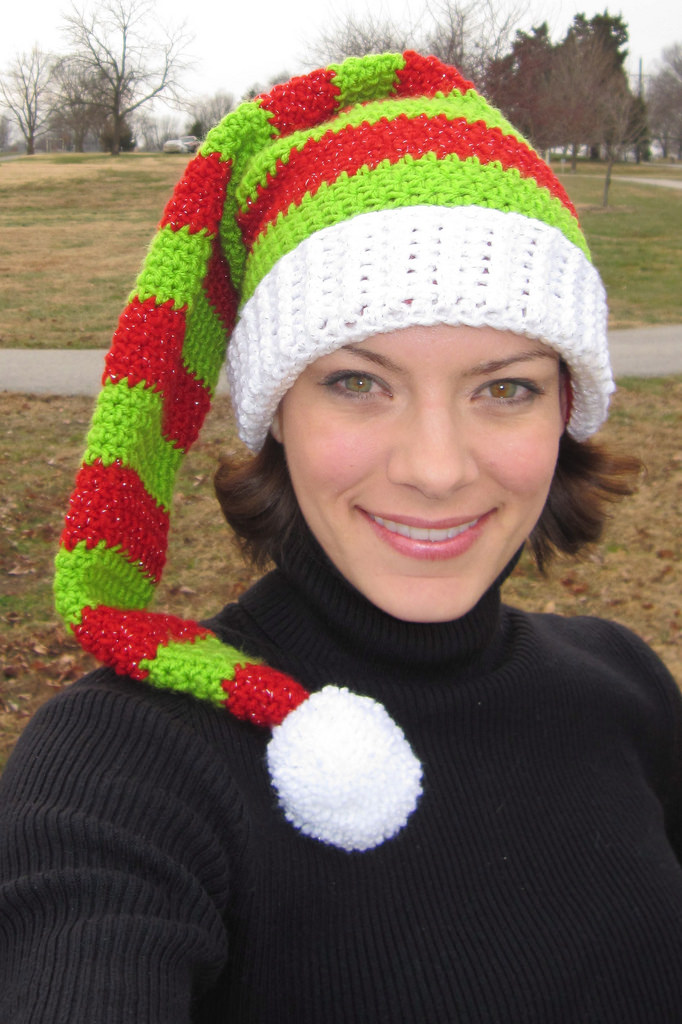 Silly Simple Elf Hat | Convivialcrafter