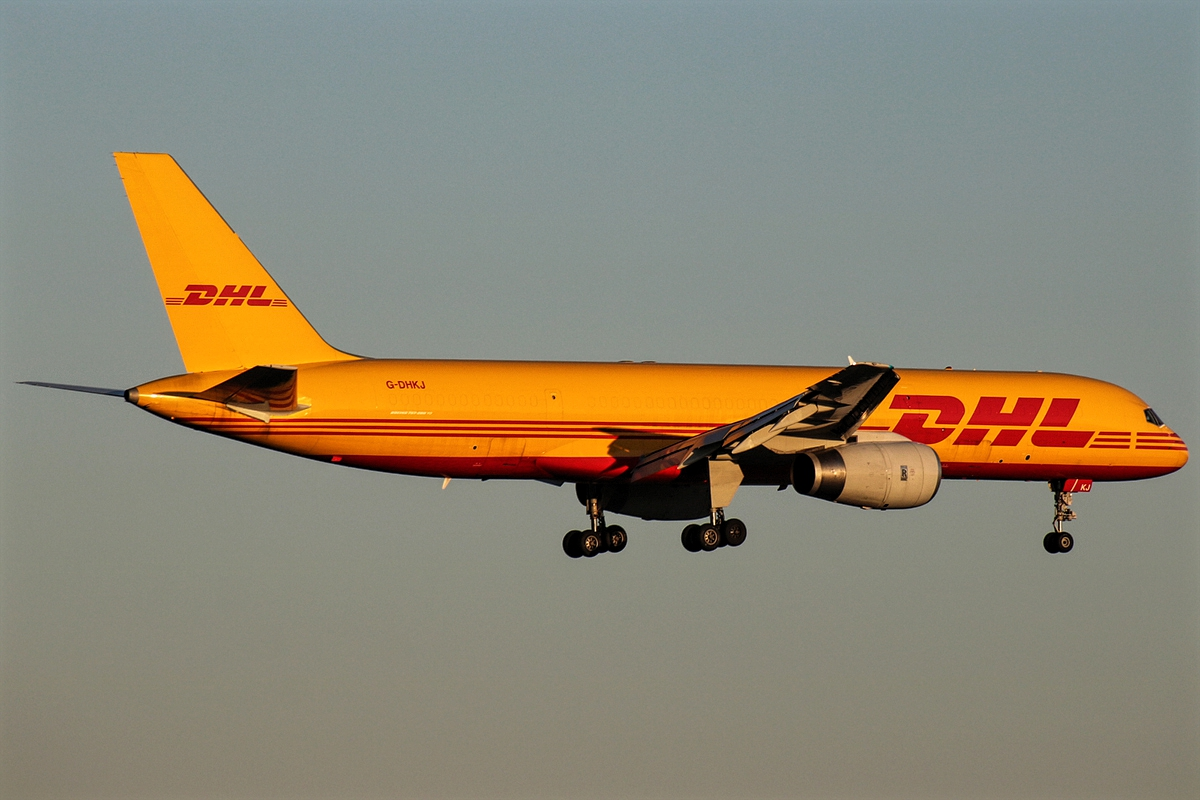 DHL Express Boeing 757-200 Freighter G-DHKJ