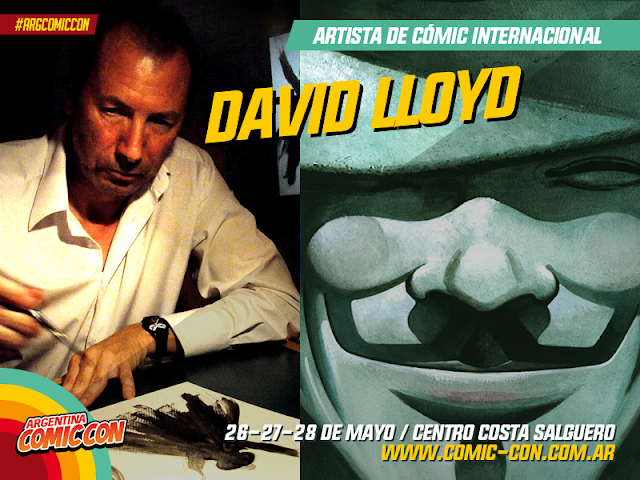 David Lloyd - V for Vendetta