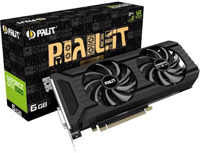 Palit GTX 1060 Gaming Pro OC